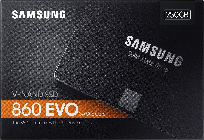 Samsung 860 EVO MZ-76E250B/EU - Disco duro sólido interno de 250 ...