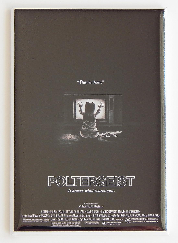 Poltergeist Póster de película imán para nevera (2 x 7,62 cm ...