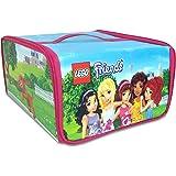 Amazon Com Neat Oh Lego Head Zipbin 800 Brick Toy Tote