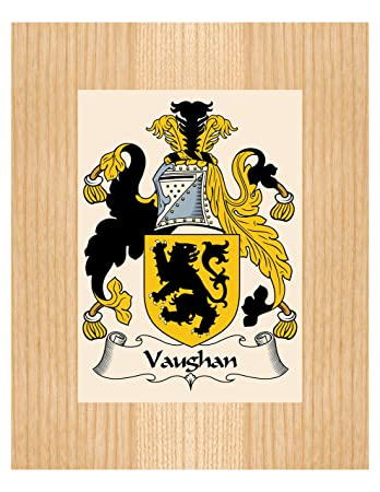 Amazon vaughan coat of arms vaughan family crest 8x10 vaughan coat of arms vaughan family crest 8x10 photo plaque personalized gift wedding negle Choice Image