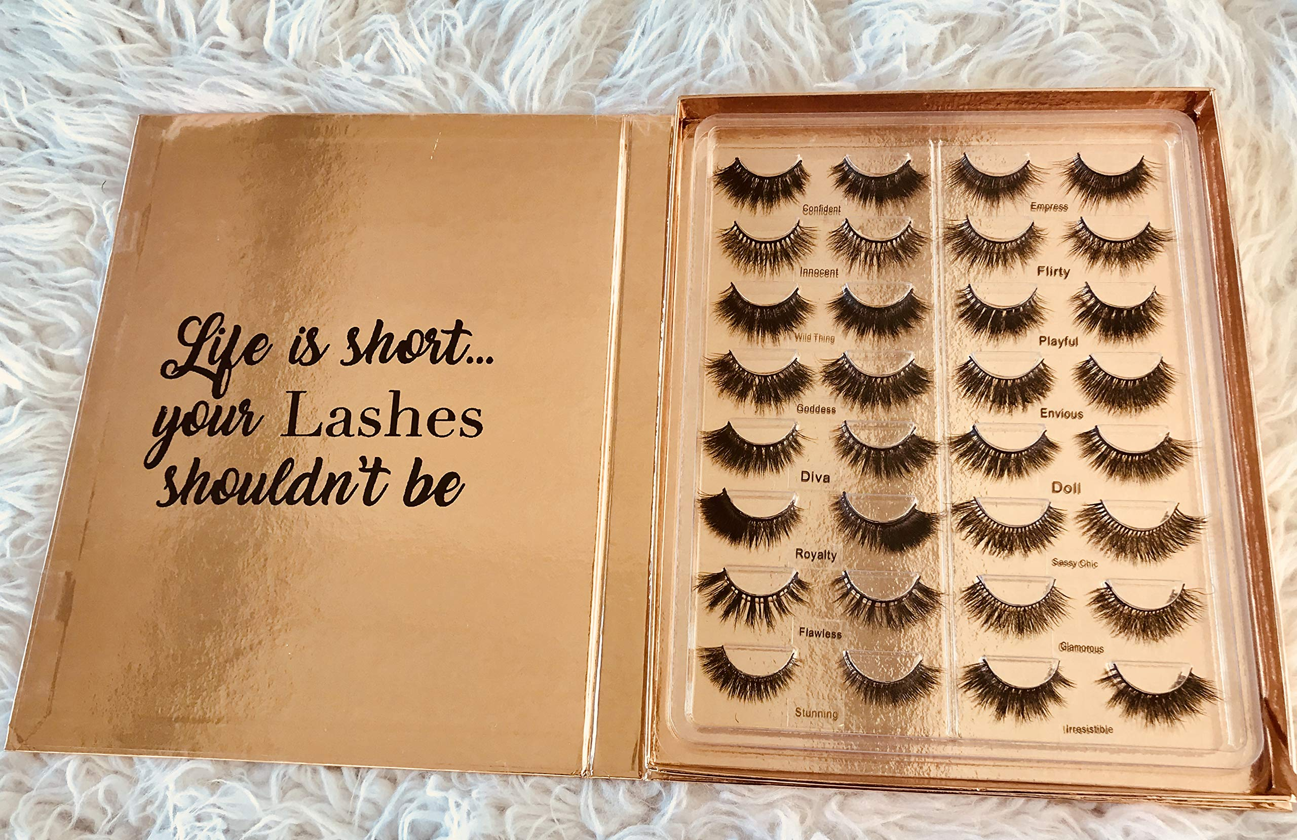 Gorgeous Gal Real Mink Lash Book (Volume 1) by Shop Envyme