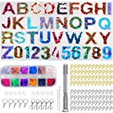 DIY Alphabet Resin Silicone molds Backward Letter and Number Mold for Making Epoxy Resin Crafts and Keychains, Resin…