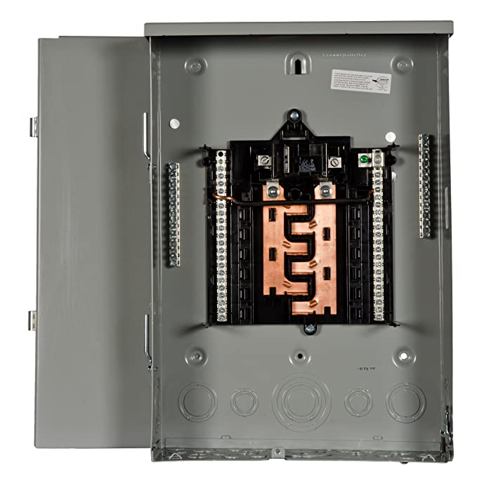 PW1224B1100CU 100-Amp 12-Space 24-Circuit Outdoor Rated Main Breaker Load Center