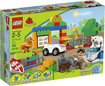 LEGO DUPLO My First Zoo 6136 [Toy] (japan import): Amazon.es ...