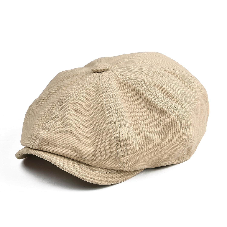 BOTVELA HAT メンズ B07D9JTZKL Large|カーキ カーキ Large