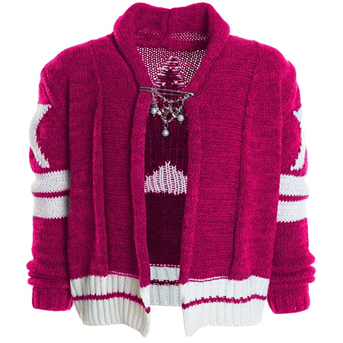723043283 BEZLIT - Cárdigan - Camisa - Estrellas - Cuello redondo - Manga Larga - para  niña rosa 6 años   Amazon.es  Ropa y accesorios
