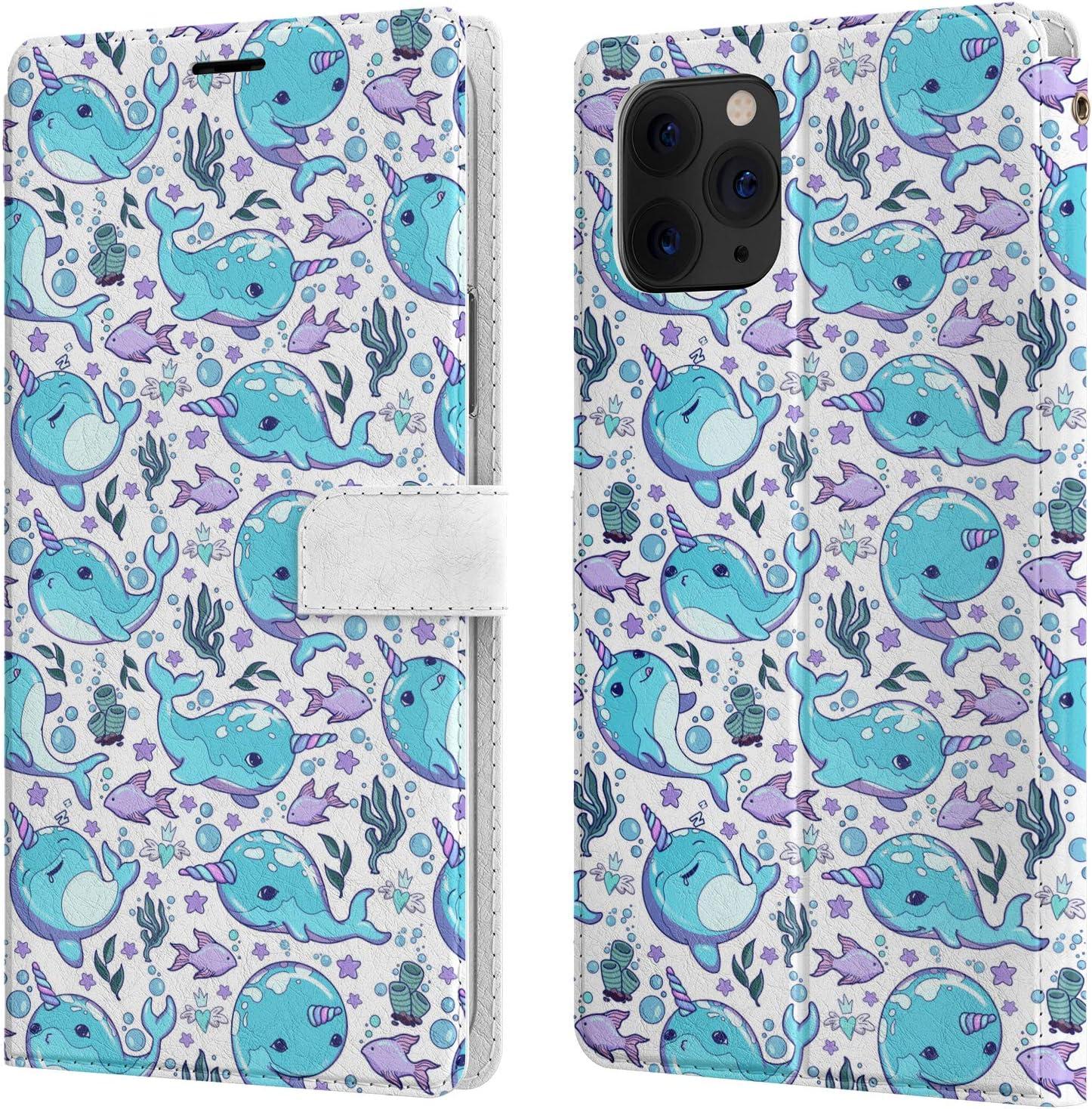 Amazon.com: Apple iPhone 8 Plus Flip Fabric Wallet Case