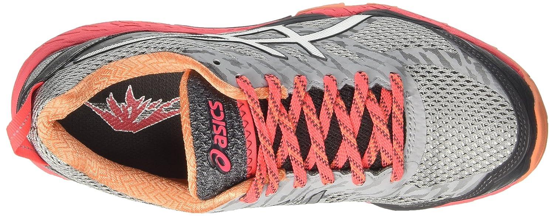 Asics Gel-Fujitrabuco 5, 5, 5, Scarpe trail-running donna Grigio Midgrey/Silver/Diva Pink) a534d3