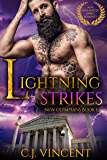 Lightning Strikes: A M/M Non-Shifter MPREG Romance (New Olympians Book 1) (English Edition)