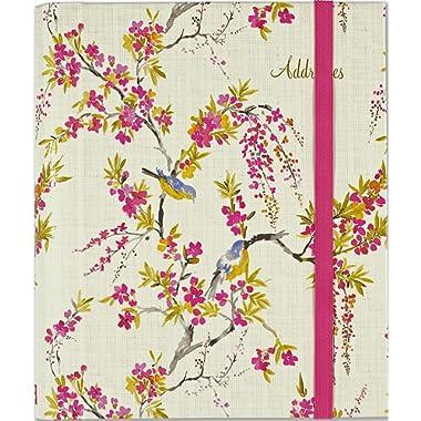 Blossoms & Bluebirds Large Address Book