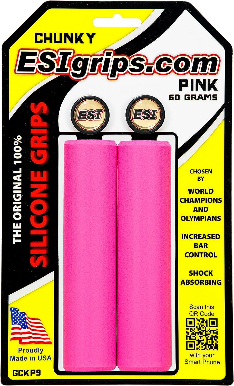 ESI Puños Chunky Color Rosa: Amazon.es: Deportes y aire libre