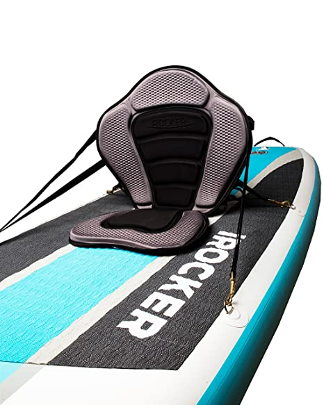 iROCKER inflable, tabla tipo Kayak con asiento: Amazon.es ...