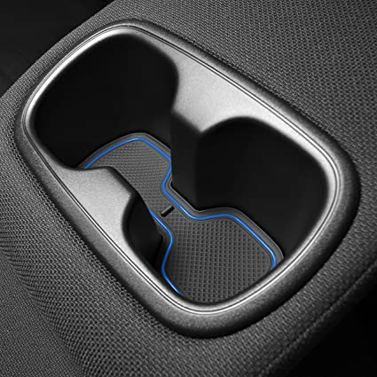 Toyota Pocket Source App >> Cupholderhero For Toyota Corolla 2020 Custom Liner Accessories Premium Cup Holder Console And Door Pocket Inserts 11 Pc Set Sedan Blue Trim