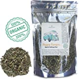 Happy Camper Tea   100% ORGANIC Calming Remedy   Natural Relief for Mild Anxiety, Stress & Depression   Herbal Mood Lifter   GREAT GIFT, 48+ SERVINGS (3.9 OZ)