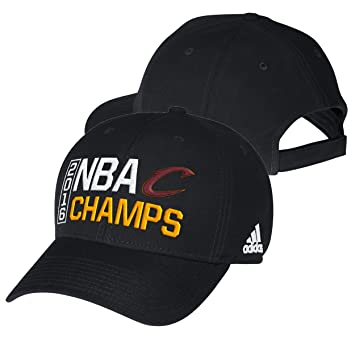 Image Unavailable. Image not available for. Color  Cleveland Cavaliers  Black 2016 NBA Finals Champions Locker Room Champs Adjustable Hat ... ef9474941719