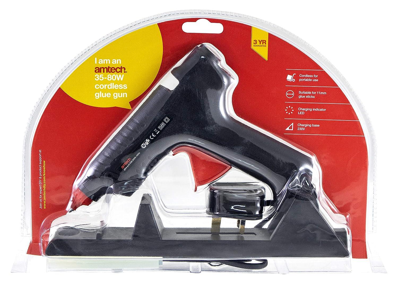 Amtech S1845 Corded/Cordless Glue Gun