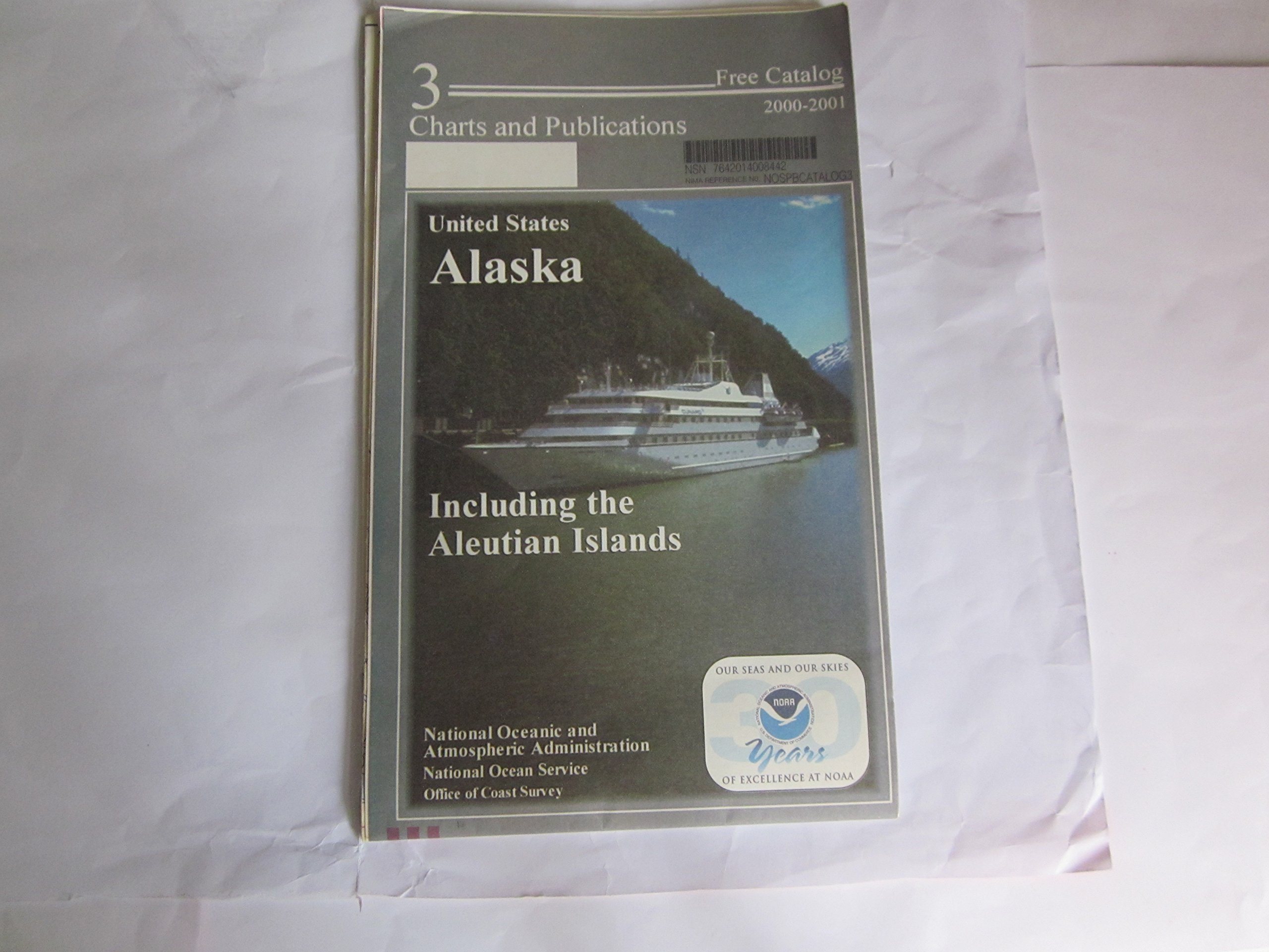 United States, Alaska Including the Aleutian Islands, Map and