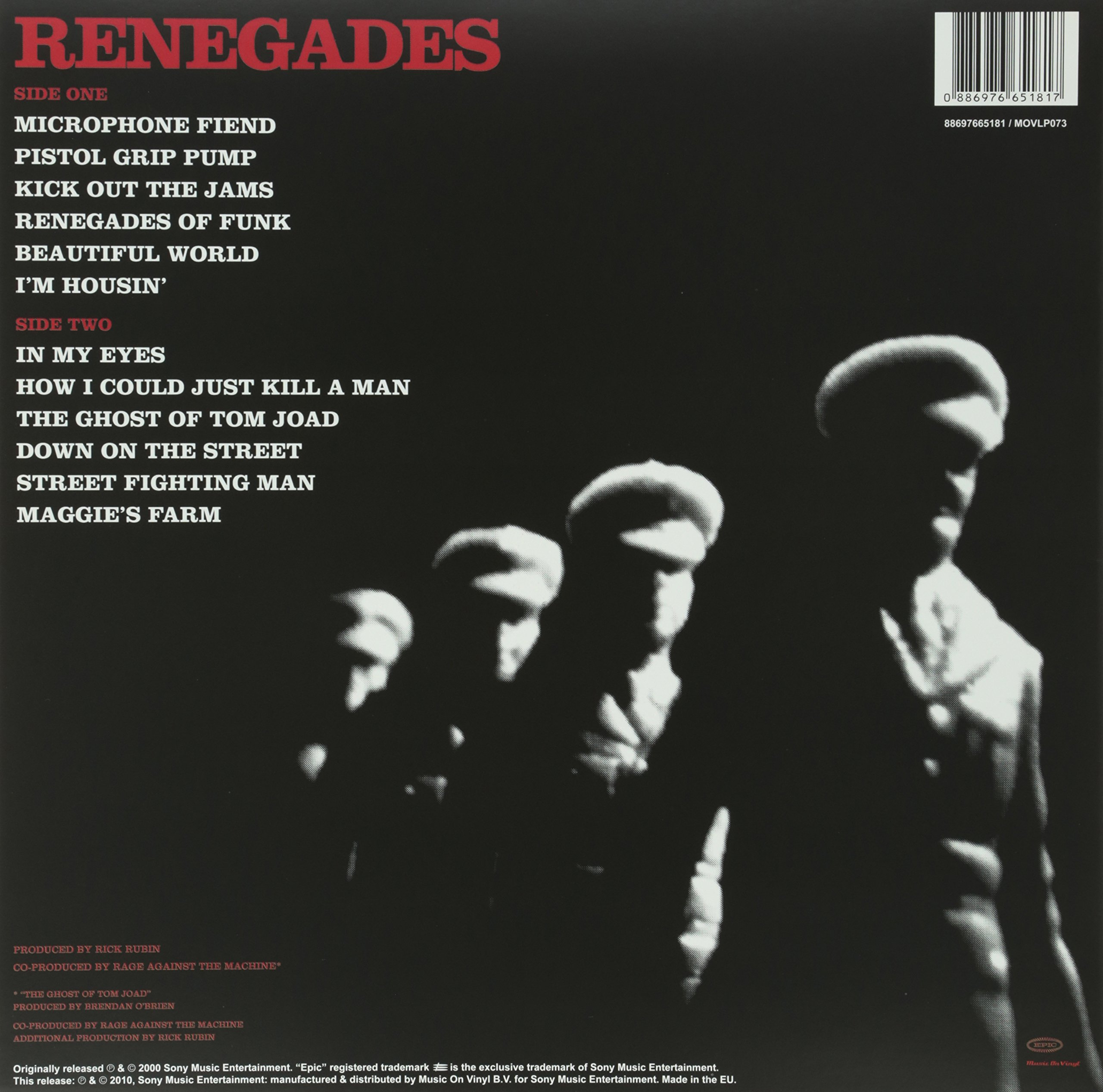 Renegades (Mov Version) by VINYL