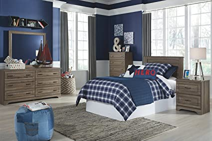 Ashley Furniture Signature Design   Javarin Youth Twin Panel Headboard    Childrenu0027s Contemporary Bedset   Component