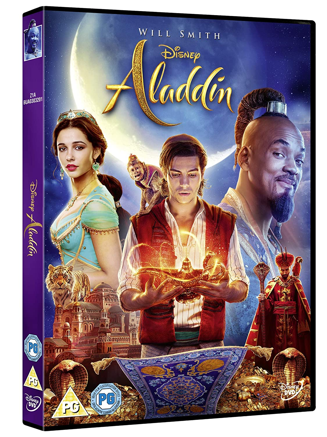 Aladdin Live Action 2019 [DVD]: Amazon co uk: DVD & Blu-ray