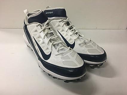 088355393 Dallas Cowboys Jason Hatcher  97 2013 Season Game Used Size 15-Nike Air Zoom
