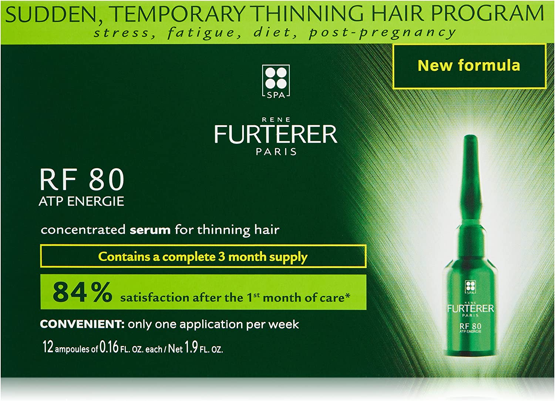 Rene Furterer Rf 80 Concentrated Hair Loss Treatment 12X - 5 ml: Amazon.es: Belleza