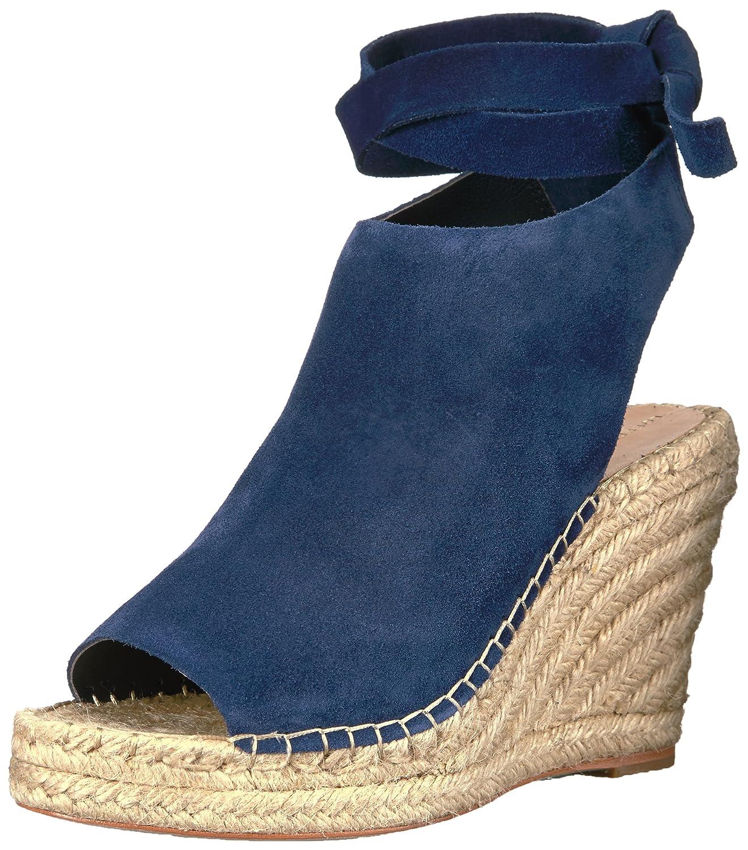 Loeffler Randall Women's Lyra Ankle Tie (Suede) Espadrille Wedge Sandal B01N0XK4P8 6.5 B(M) US|Eclipse