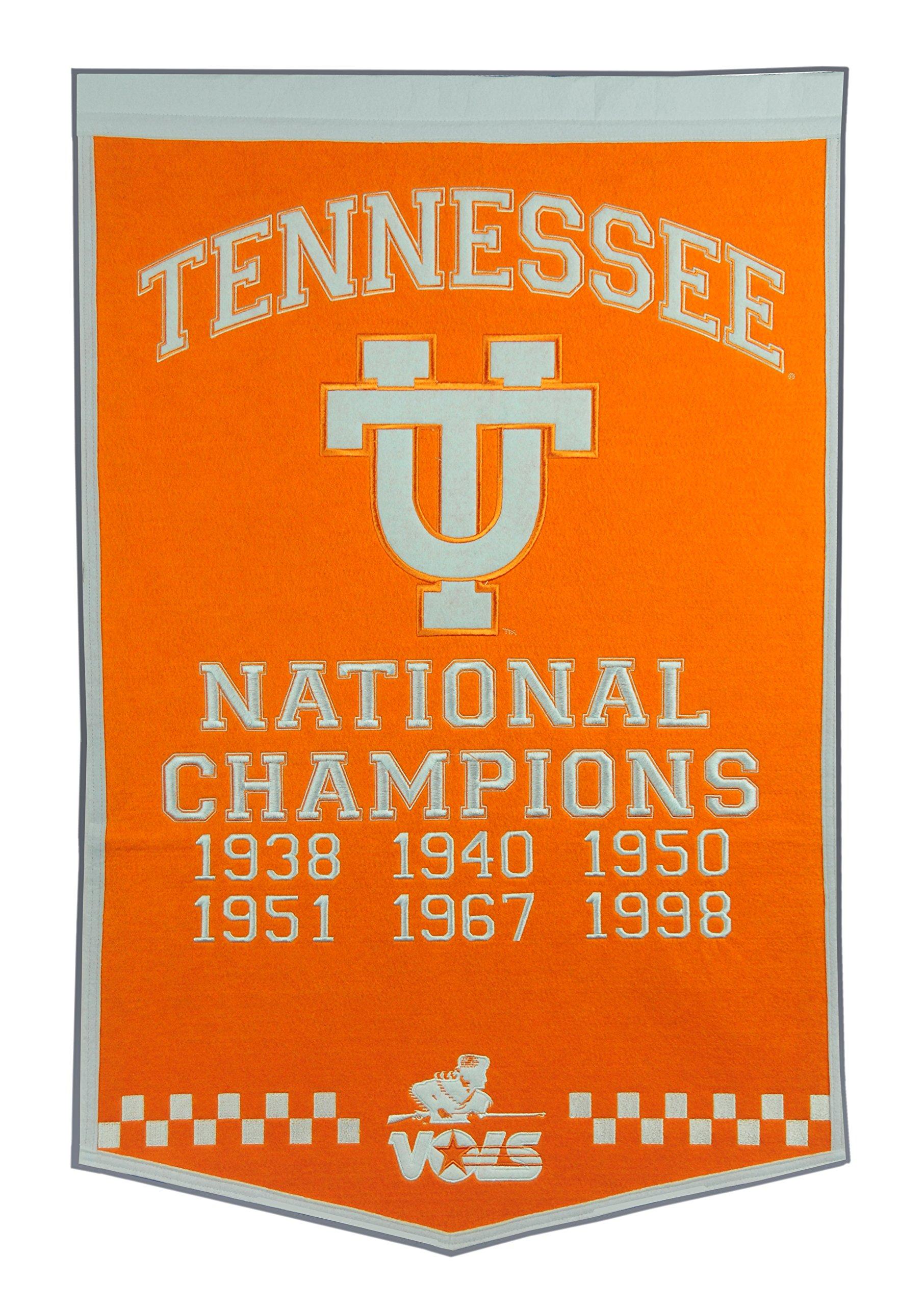 Winning Streak NCAA Tennessee Volunteers Dynasty Banner by Winning Streak