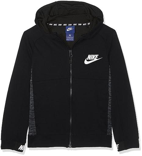 4c7ad2bdd88853 Amazon.com   Nike Boys Sportswear Advance 15 Big Kids Hoodie Black ...