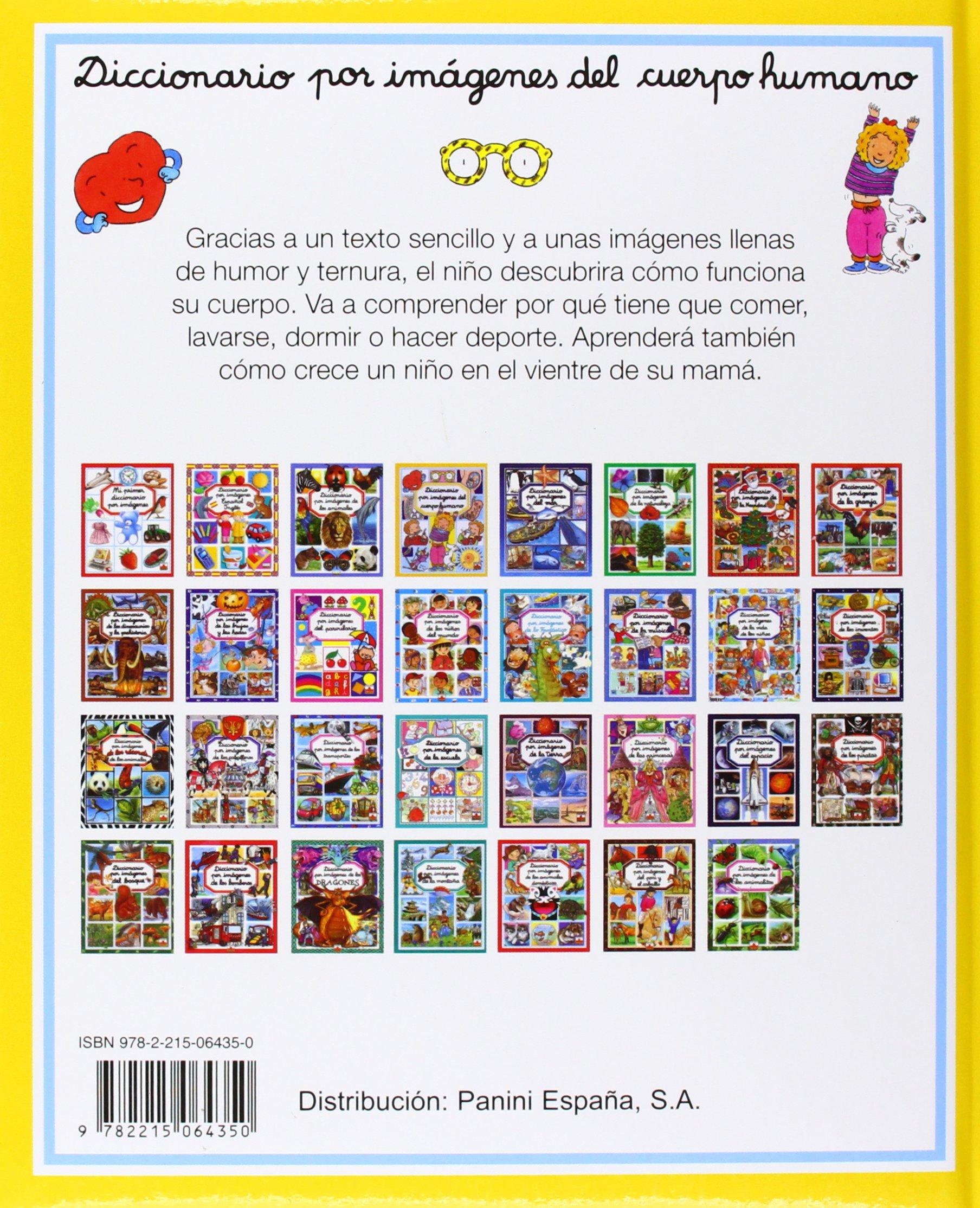 Diccionario por imagenes del cuerpo humano/ Picture Dictionary of ...