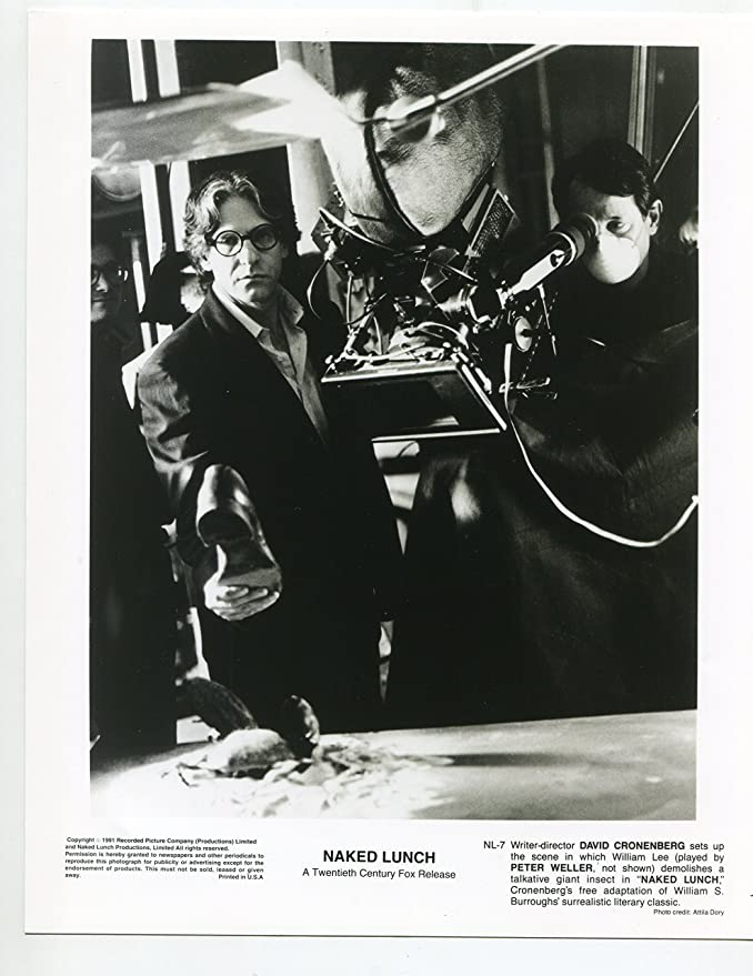 MONSTER BRAINS: David Cronenberg and William S Burroughs