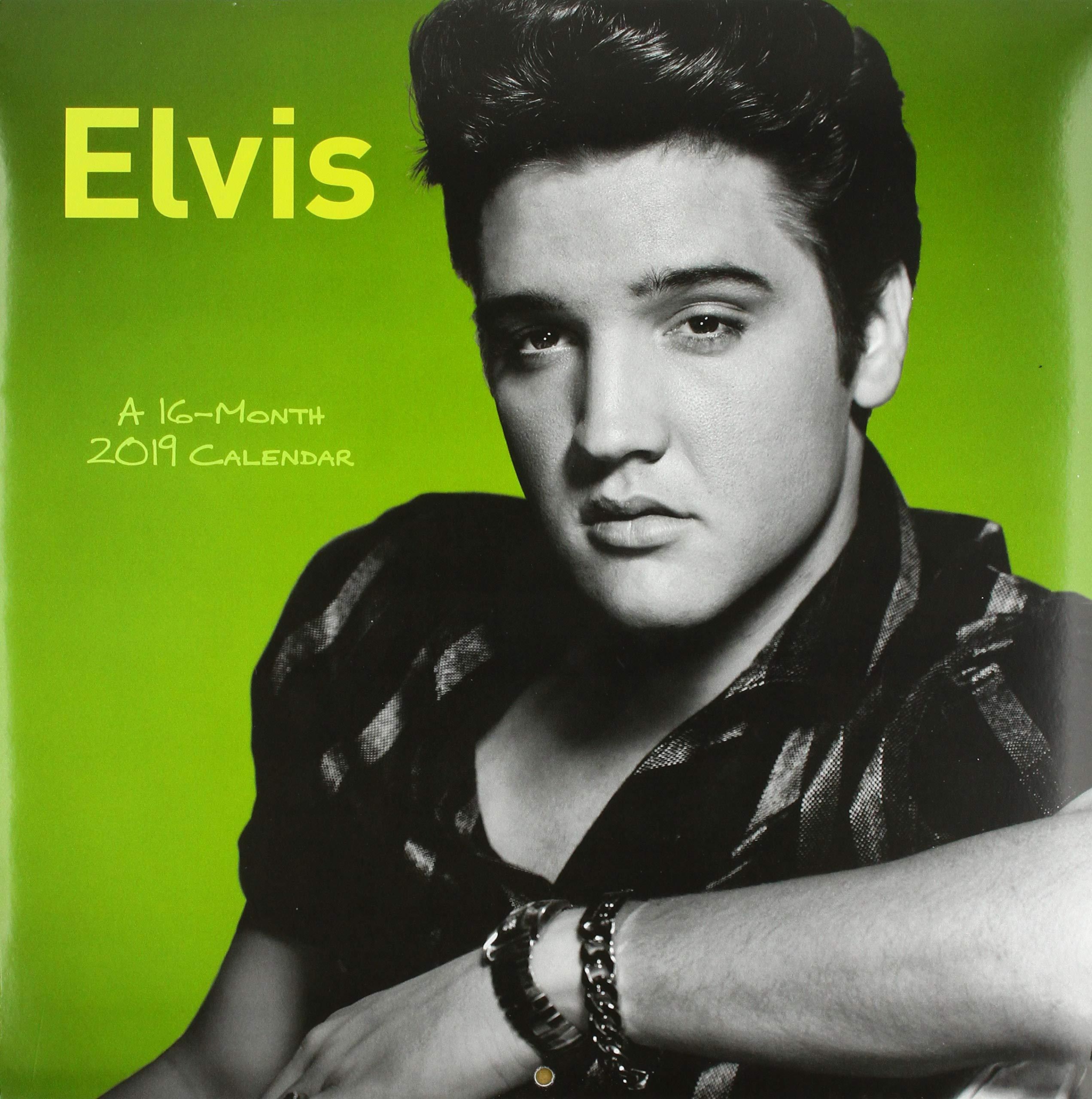 Elvis Wall Calendar (2019) pdf epub