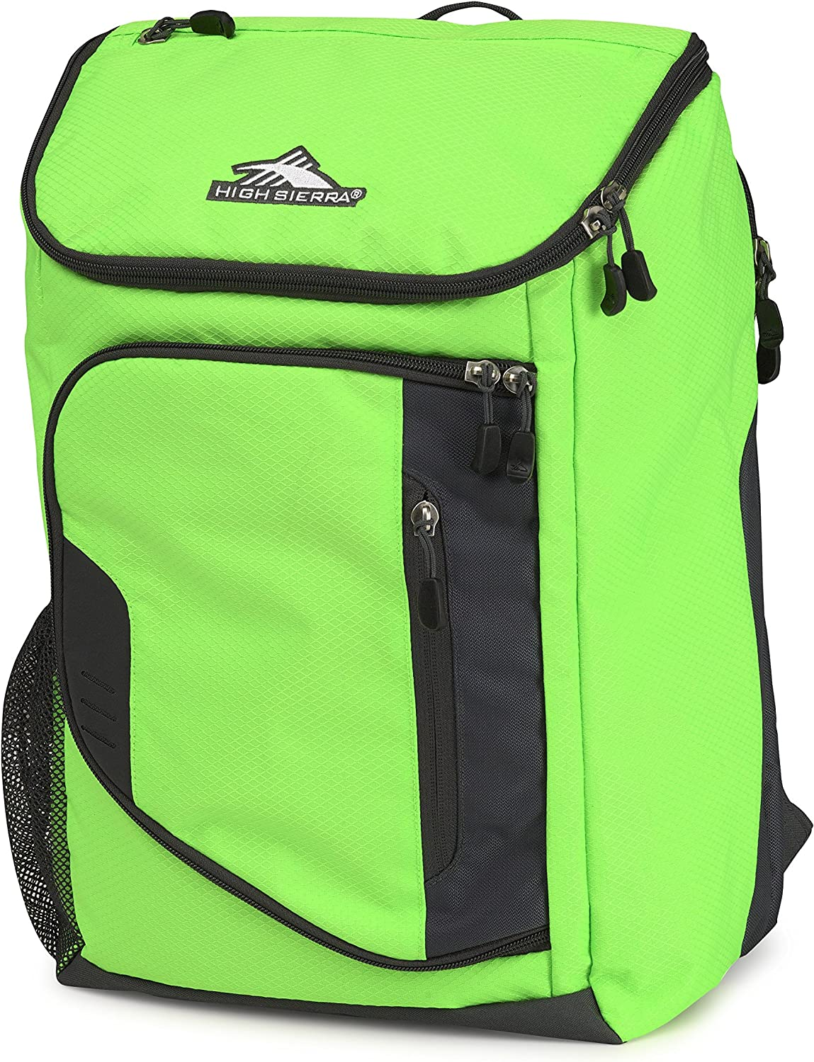 High Sierra Poblano Backpack, Lime Mercury, One Size