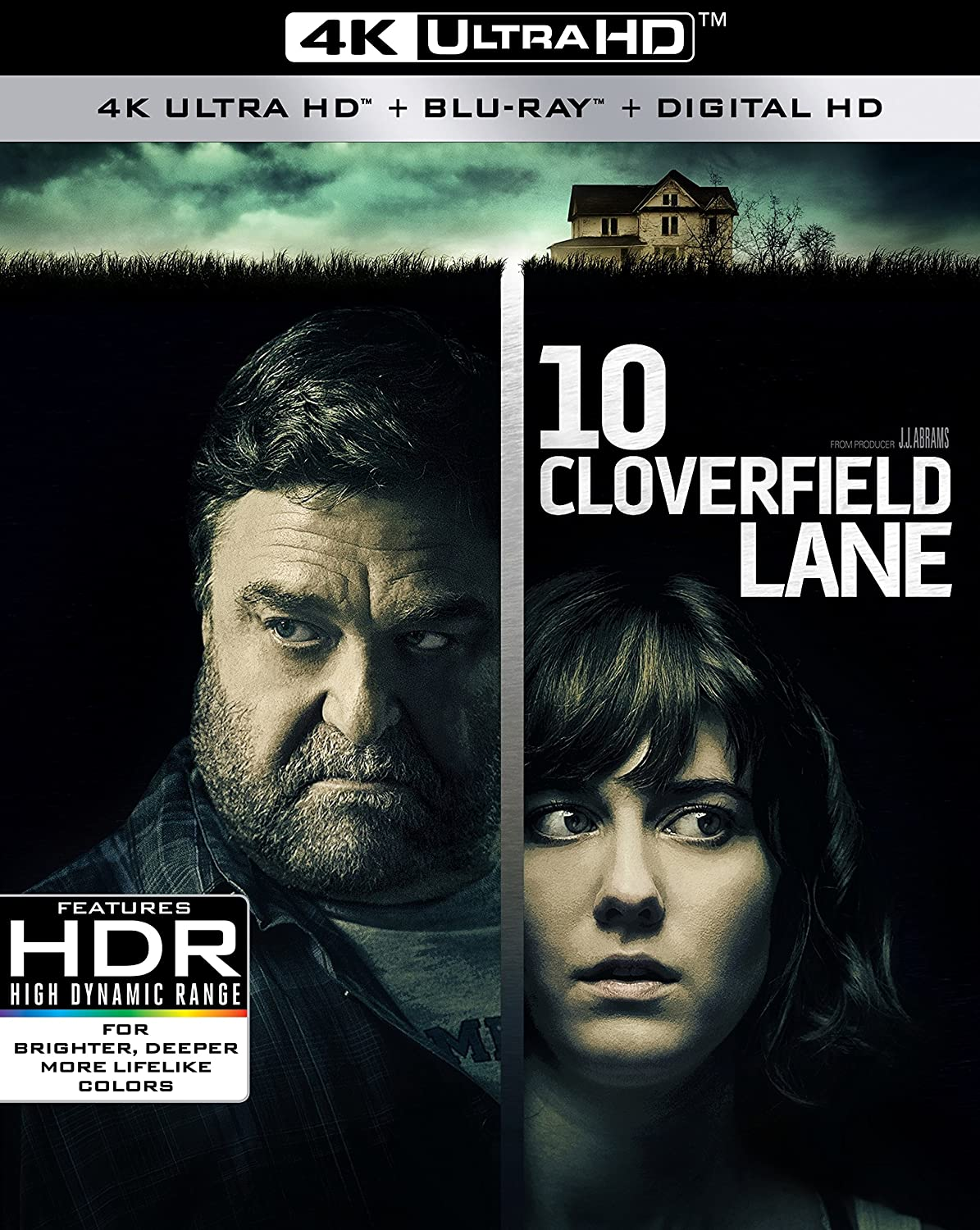 Amazon com: 10 Cloverfield Lane [Blu-ray]: 10 Cloverfield