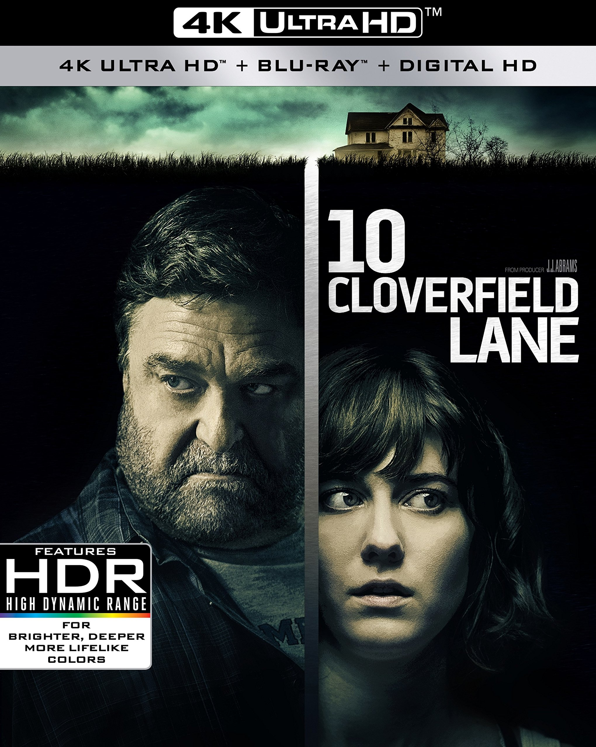 4K Blu-ray : 10 Cloverfield Lane (With Blu-Ray, 4K Mastering, 2 Pack, Widescreen, )