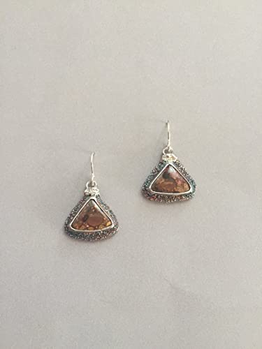 gemstone product artfire jasper shop earrings handmade on navajo view kiya jewelry ext