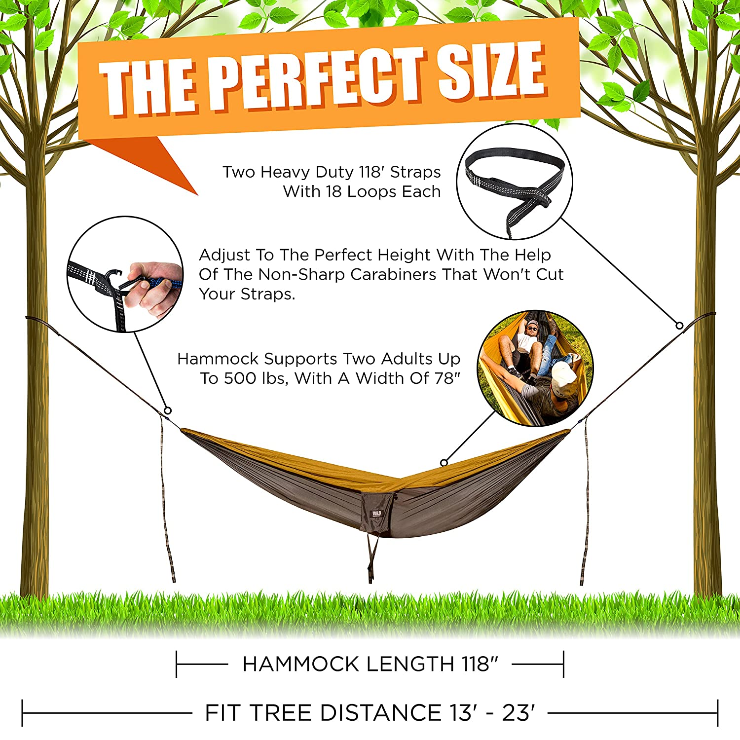 portable loop double compression camping lbs holds aluminum two straps tree hammock for product edges wiregate set purple carabiners ideal best lightweight person that strap travel