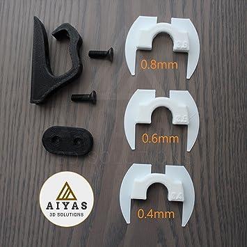 Advanced Pack Patinete Xiaomi Mijia M365 M185 (Amortiguador Junta Antiholgura, Gancho Portabolsas, Protector Cable LED) Scooter Accessories 3D Printed: ...