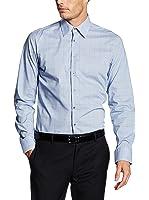 Seidensticker Herren Langarm Hemd UNO Super Slim Stretch Classic Kent mehrfarbig kariert 573656.13