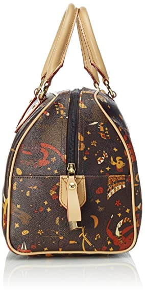 2167d_testa Di Moro_31 Cm, Womens Top-Handle Bag, Brown (Testa Moro), 31.0x20.5x16.5 cm (W x H L) Piero Guidi
