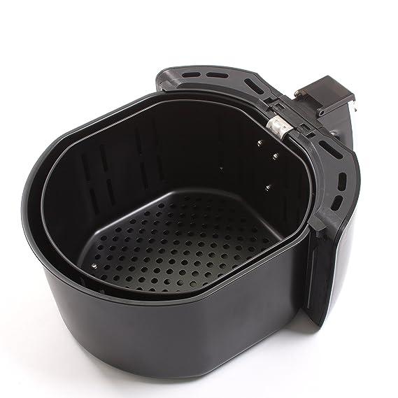kesser® XXL 5,5 litros freidora de aire caliente freidora | Incluye Panificadora cesta | 1700 W Negro: Amazon.es: Hogar
