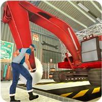 Heavy Excavator Crane Mechanic
