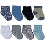 Little Me Baby Boy Socks, 8-Pack, Multi, 0-12 Months