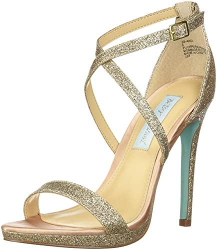 6d9b2c862bf041 Blue by Betsey Johnson Women s SB-ANDI Heeled Sandal