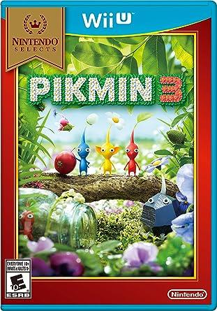 Amazon Com Nintendo Selects Pikmin 3 Nintendo Of America Video Games