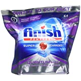 Amazon Price History for:Finish Quantum Max Powerball, 64ct, Dishwasher Detergent Tablets, Ultimate Clean & Shine