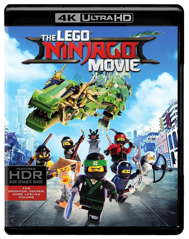 Lego Ninjago Movie, The (4K Ultra HD + Blu-ray)(4K Ultra HD)