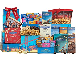 The Ultimate Ghirardelli Chocolate Gift Tower by Wine Country Gift Baskets