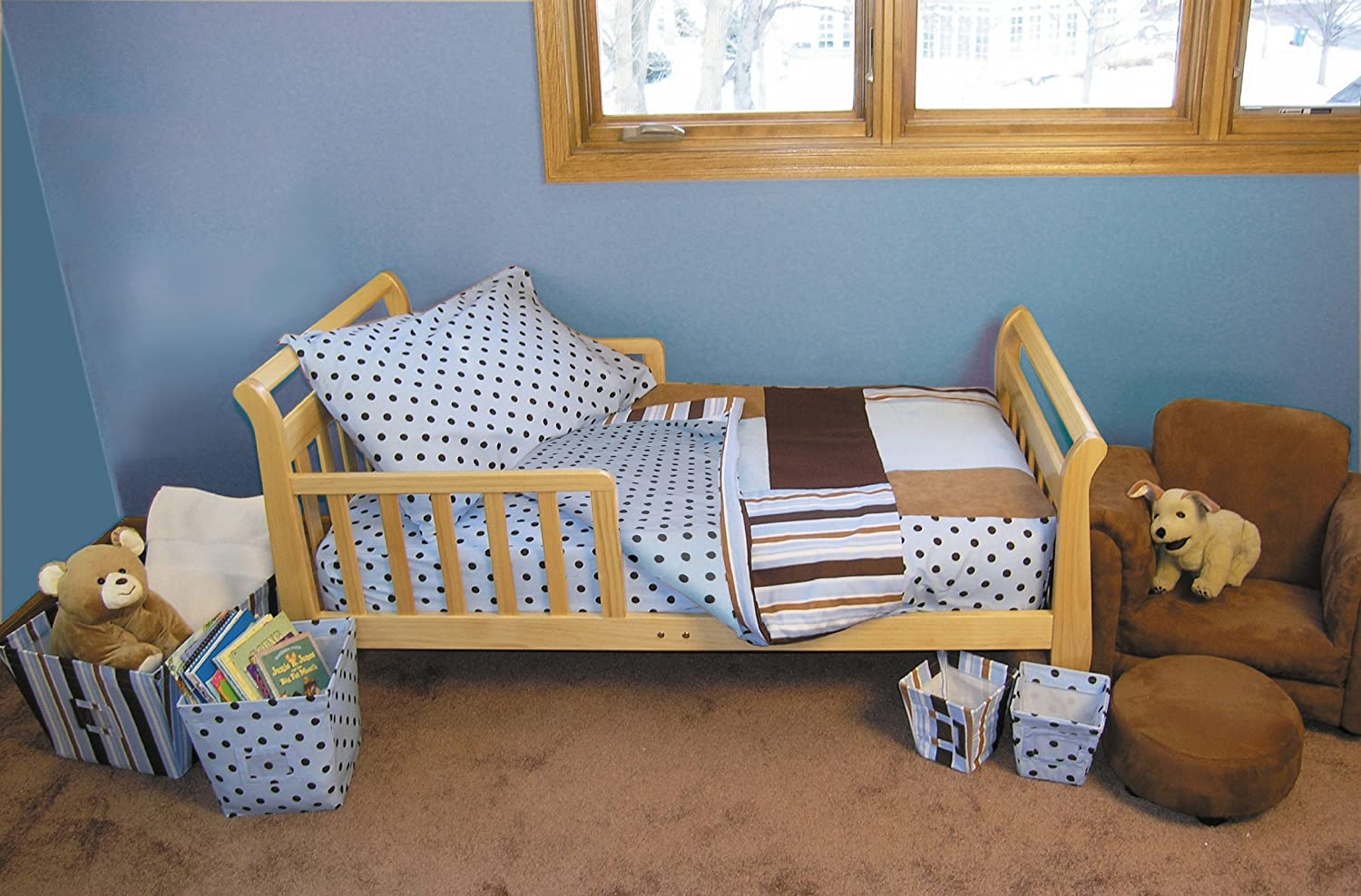 Trend Lab 4 Piece Toddler Bedding Set, Set, Max Max by 4 Trend Lab [並行輸入品] B001JABTL4, 釣具のキャスティング:6fa8161b --- ijpba.info