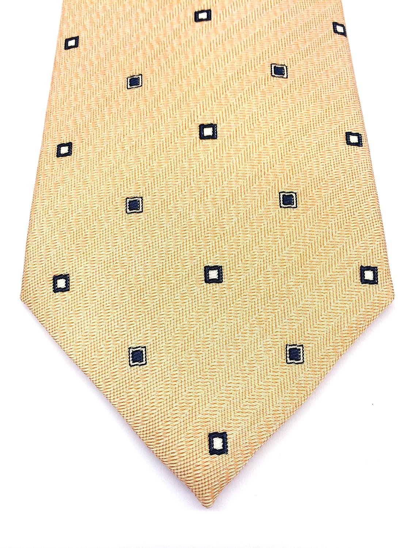 Real Luxury Napoli Corbata de seda con tres pliegues, fondo color ...
